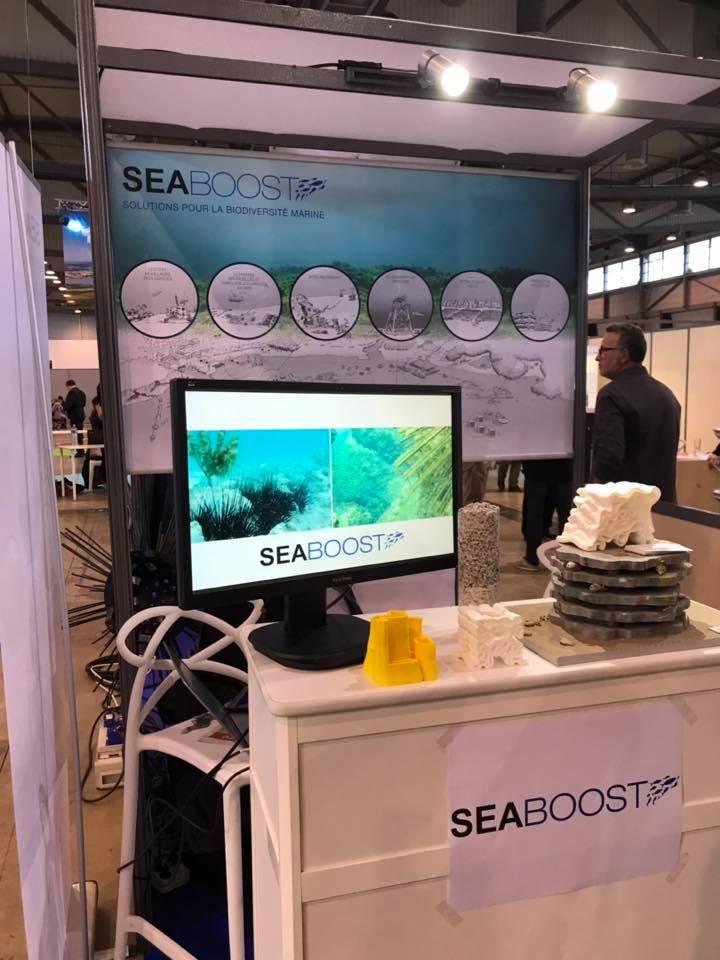 Salon du littoral innovation Seaboost 1