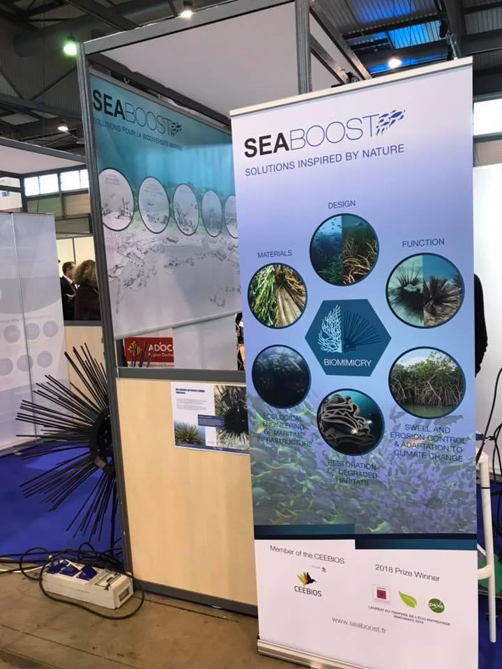 Salon du littoral innovation Seaboost 3